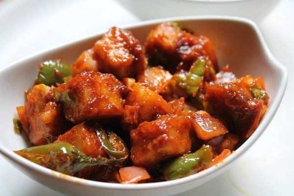Chilli Paneer Curry